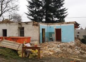 Rozbiórka budynku