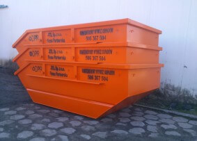 Kontener na gruz i odpady