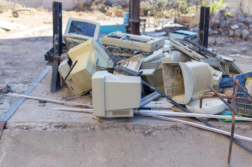 Zużyty sprzęt elektroniczny - wywóz i utylizacja