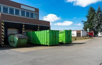 Pojemności kontenerów na odpady - przegląd propozycji dla różnych branż